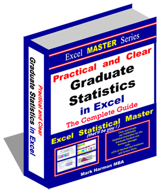 Excel Master Series - MBA-level statistics - Over 400+ Pages of Easy-To-Follow Instructions in Excel